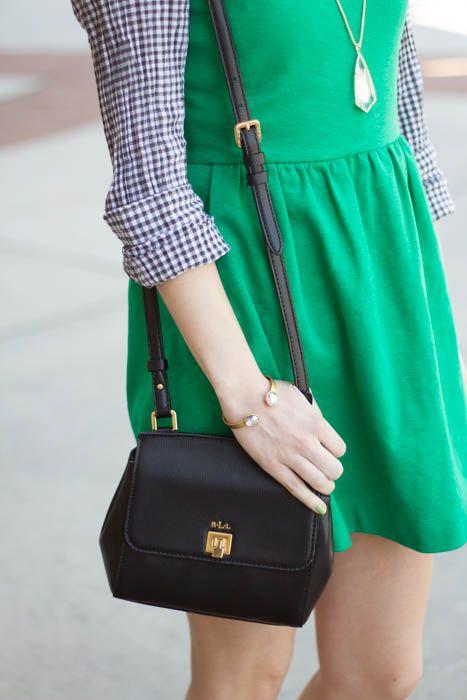 Caralina Style: Green Daybreak Dress