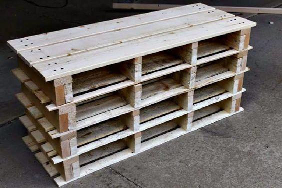 Muebles de palets instrucciones para hacer un zapatero for Como hacer muebles de palets paso a paso