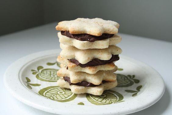 The Sweet Details: Baking My Way: Vanilla Sandwich Cookies
