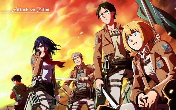 Attack On Titan - This is one of the best anime I have watched in awhile. I highly recommend it for action and suspense. I am hoping for a second season with this one.