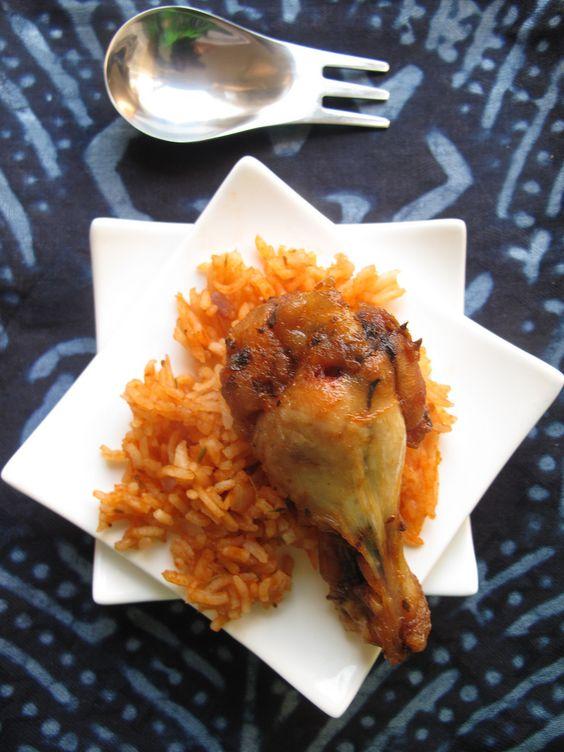 Nigerian-style chicken wings