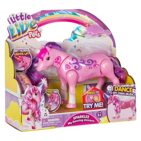 Little Live Pets Sparkles My Dancing Unicorn Target Little Live Pets Pets Interactive Puppy