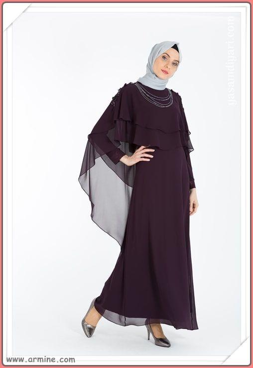 Armine Tesettur Abiye Modelleri 2019 Lookbook Elbise Modelleri Moda Ve Biye