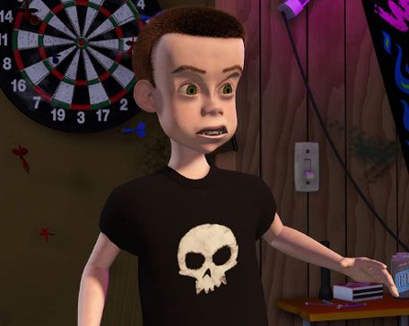 Sid from Toy Story. Fact: he ended up working as a garbage ...