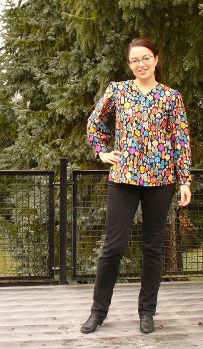 Schnittmuster Zsalya-Bluse von Kate&Rose