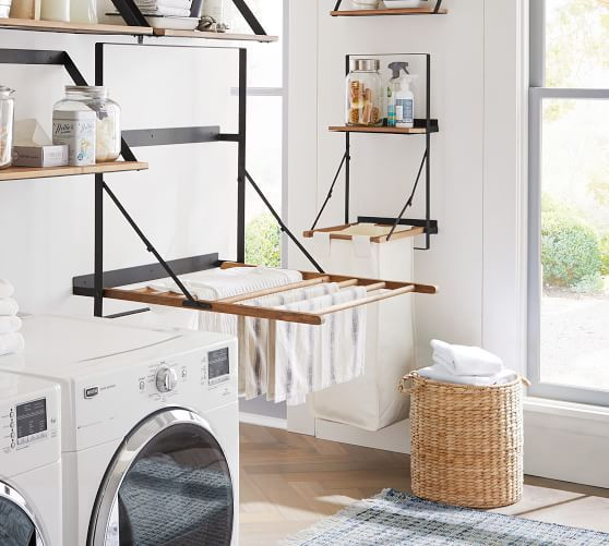 Trenton Laundry Bag Holder And Shelf In 2020 With Images