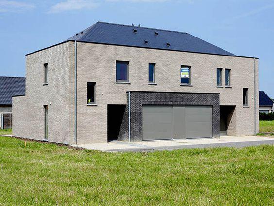 Moderne woning nieuwbouw halfopen bebouwing keiem - Deco huizen ...