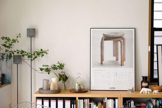 【在庫限り取扱い終了】artek/アルテック/ポスター/セカンドサイクル/スツール60 - 北欧雑貨と北欧食器の通販サイト| 北欧、暮らしの道具店