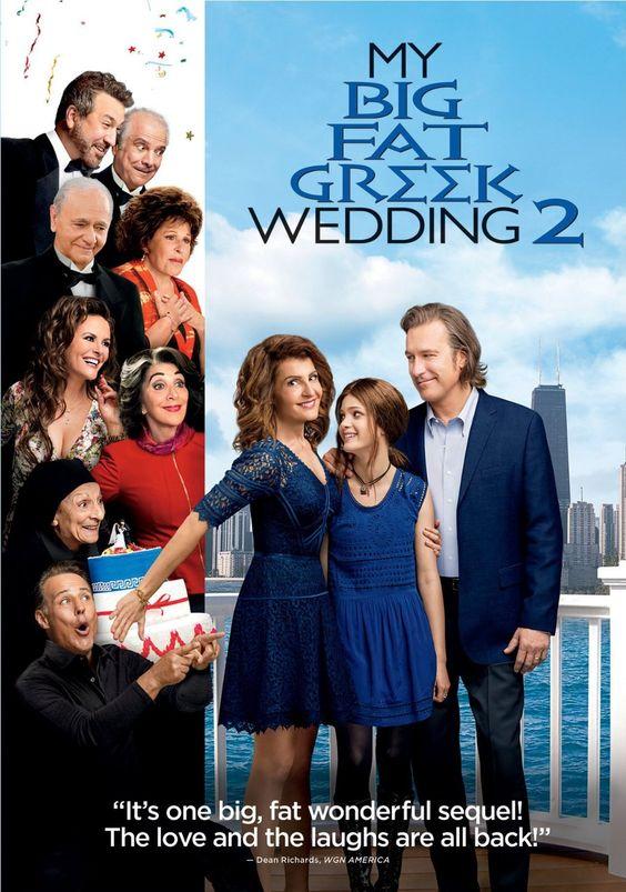 My Big Fat Greek Wedding 2 DVD Cover