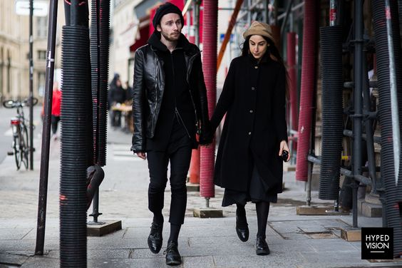 Me and Patrick during #pfw - wearing #paulharnden #a1923 #carolchristianpoell #horisaki - Paul Harnden, A1923, Horisaki