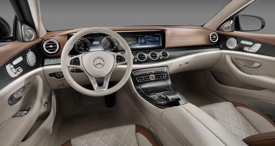Mercedes-Benz E-class (2016).