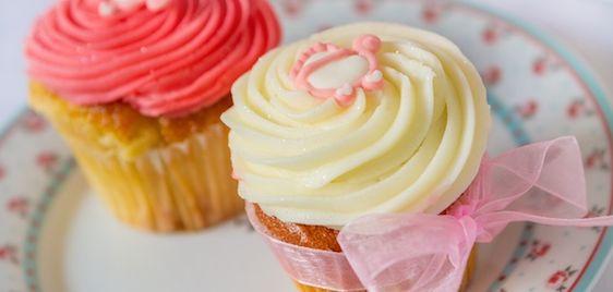 cupcakes de baunilha - modelo