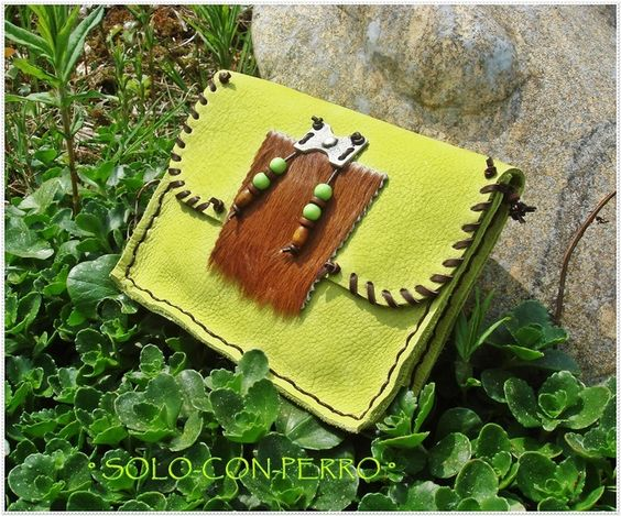 ° PAKWA ° Leder Gürteltasche Hüftbag UNIKAT von °  Solo-Con-Perro ° auf DaWanda.com