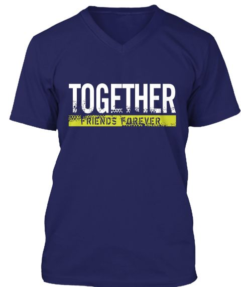 Friends Forever T Shirt 2016 Navy T-Shirt Front