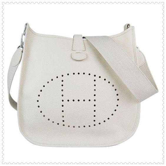 Hermes white handbag... in love