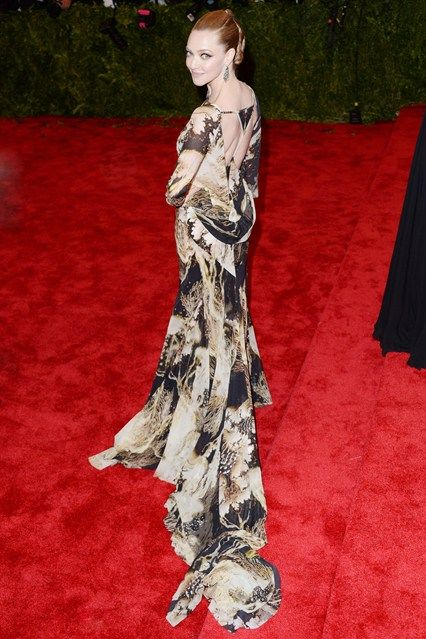 Amanda Seyfriend in Givenchy at the 2013 MET Gala