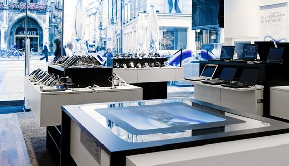 O2 - SONY experience store | cooperative brand presence | combine shop- and brandexperience