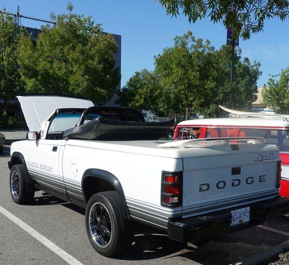 1989 Dodge Dakota Sport 4x4 Convertible In 2020 Dodge Dakota Dakota Sports Dodge
