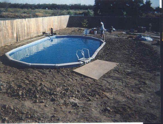 Put Above Ground Pools In The Ground Built In Look For A
