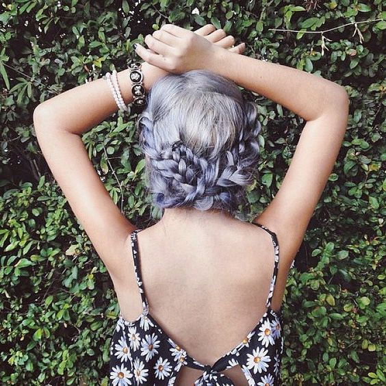 Lavender Plaits by @dearmiju