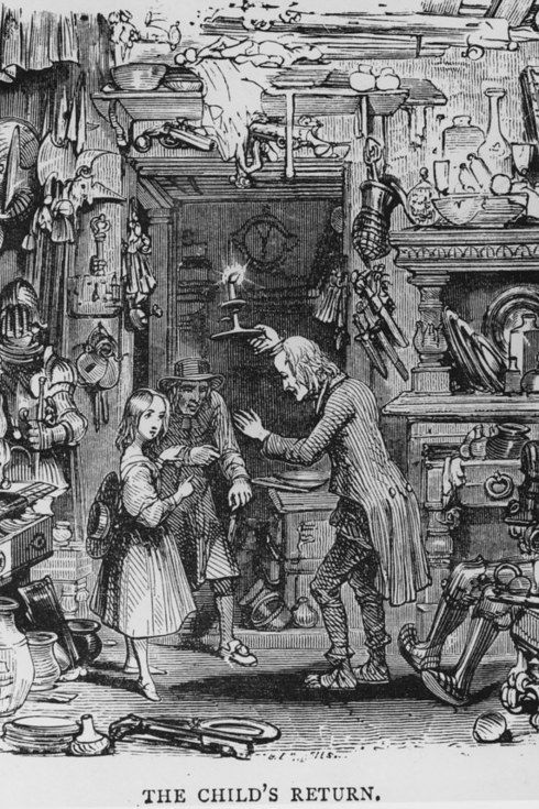The Old Curiosity Shop.   18 Vintage Photos Of Charles Dickens' London