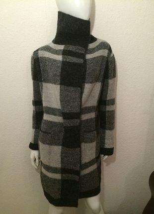 Kaufe meinen Artikel bei #Kleiderkreisel http://www.kleiderkreisel.de/damenmode/mantel/118182840-grauer-mantel-cardigan-kariert-karo-muster-schwarz-grau-hellgrau-neu-clean-chic-hipster-blogger