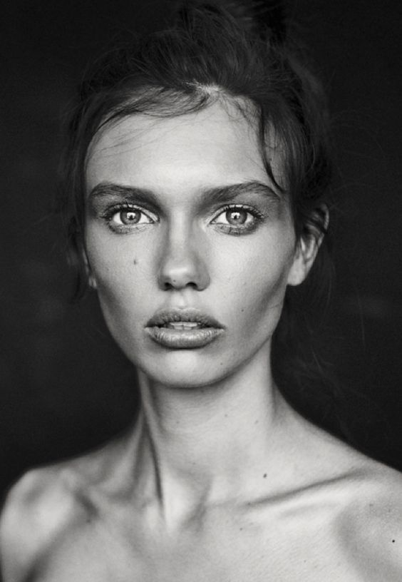 I like this photograph due to the distant stare and facial expression shown by the model. I also like how she has been exposed and lit well within the image.