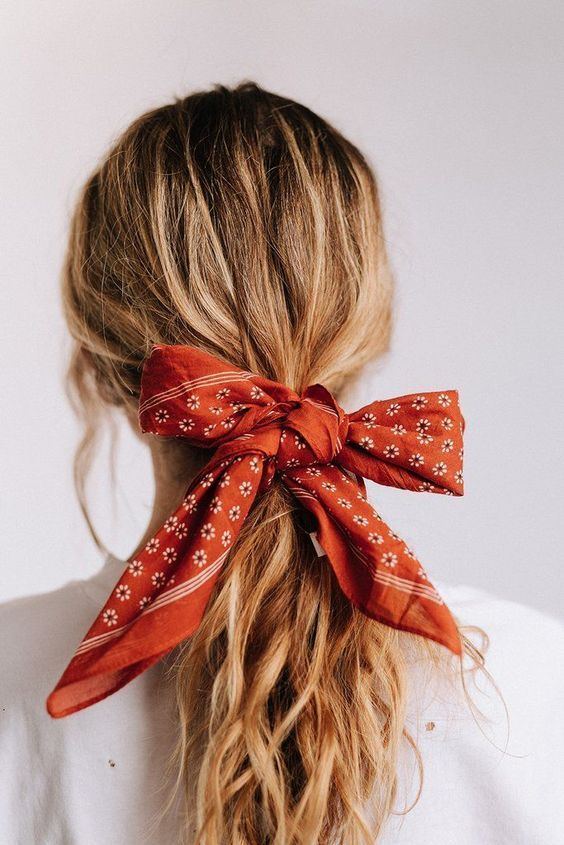 Pin By Home Hero Knife Sets On Hairstyles Hair Styles Hair Trends 2018 Scarf Hairstyles