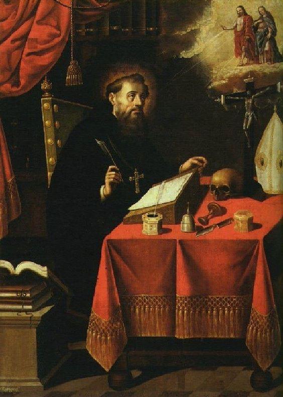 San Agustín, Antonio Rodríguez, Museo Nacional de Arte, Cdad. de México, D.F.   da Tach Jrez. Hra.