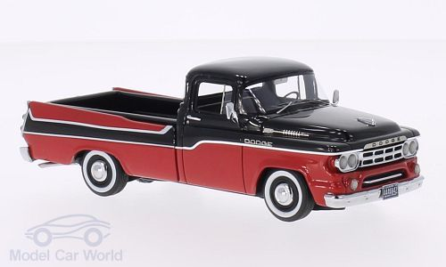 Dodge D 100 Sweptside Pick Up, rot/schwarz
