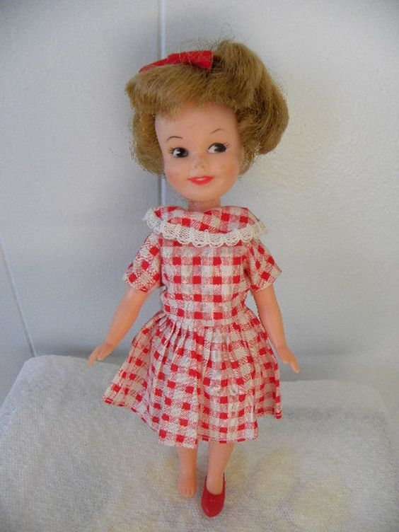 This was my sister Traci's Doll: Vintage 1960s Deluxe Reading Penny Brite Vinyl Doll by VintageShop, $8.95