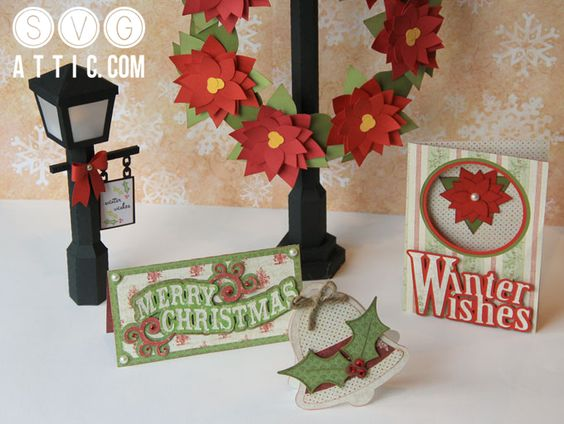 Winter Wishes SVG Collection $3.50