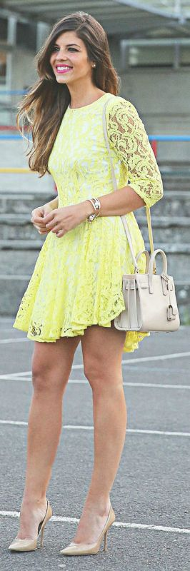 Shoes to pair ith yellow dress
