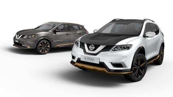 Nissan Qashqai & X-Trail Concepts Due For Geneva