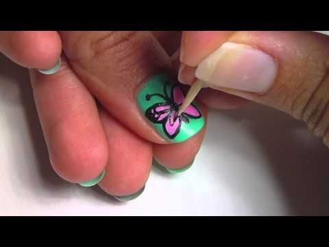 Butterfly Nail Art!! So pretty