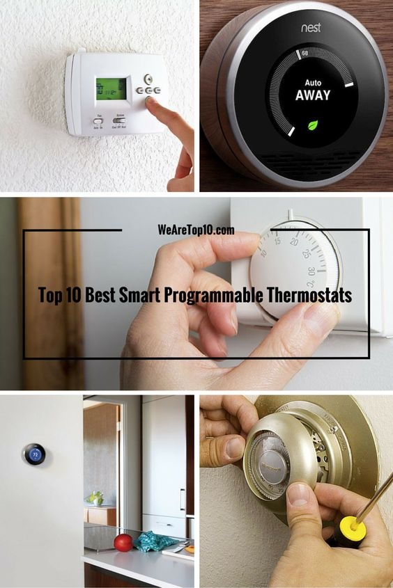 Top 10 Best Smart Programmable Thermostats Review by Price & Rating!!! #ProgrammableThermostats #HomeAppliances