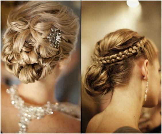 Fabulous Wedding Updo Updo And Updo Hairstyle On Pinterest Short Hairstyles Gunalazisus