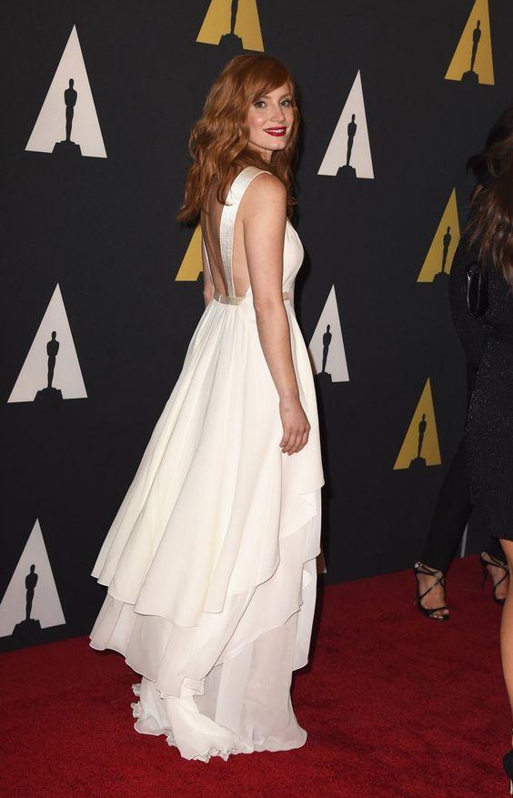 Pin for Later: Die Promis starten in die Awards-Saison Jessica Chastain