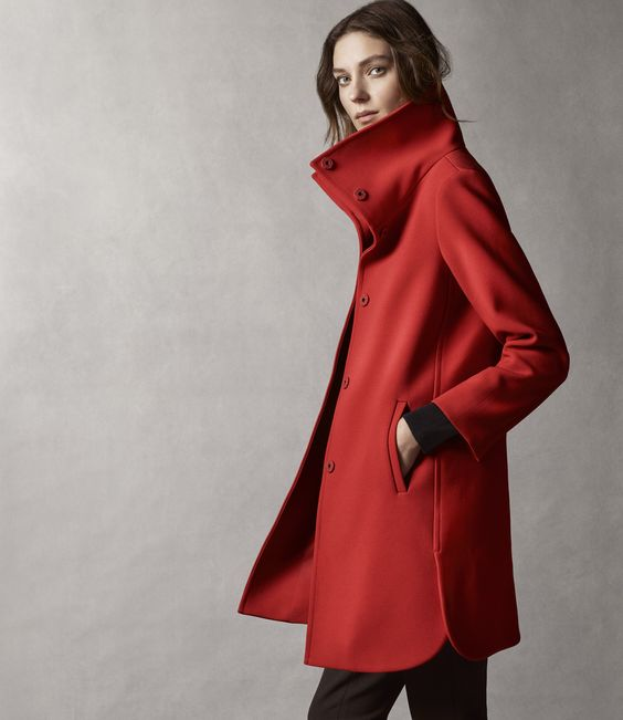 Red Statement Coat | Coats Red coats and The o&39jays