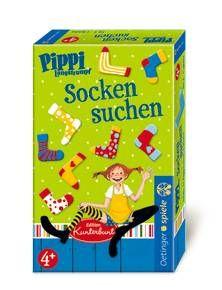 """Pippi Langstrumpf """"Socken Suchen"""". Ab 4 Jahren."""