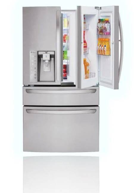 modern kitchen appliances | modern kitchen appliances fridges coolers Fridge Design Trends To Know ...