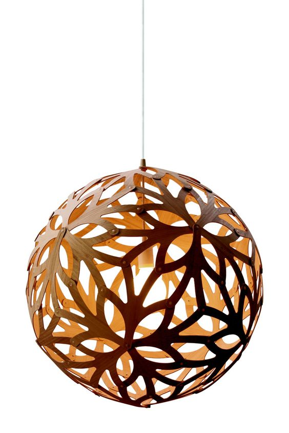 david trubridge floral 1600 pendant lamp