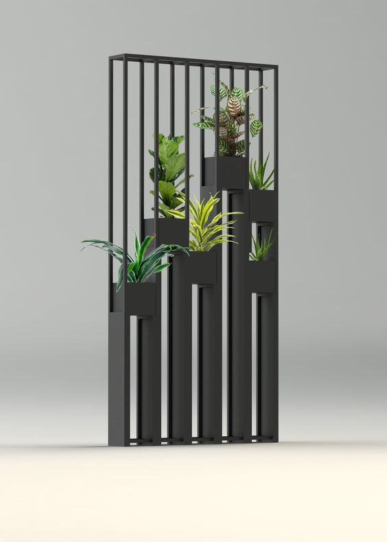 Greentower claustra en m tal pour s parer vos pi ces ou for Deco jardin claustra