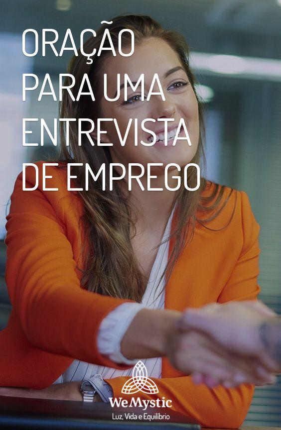 Oracao Para Uma Entrevista De Emprego Com Imagens Entrevistas