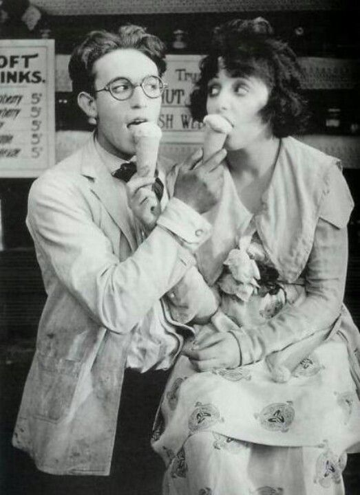 Harold Lloyd. We love this picture.