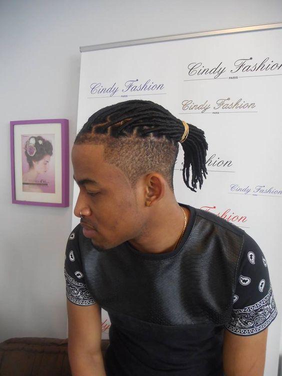 Pose de faux locks coupe homme prestation coiffure r alis e par les experts cfp pose de faux - Coiffure afro homme catalogue ...