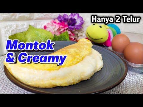 Super Fluffy Souffle Omelette Recipe Membuat Telur Dadar Yang Lembut Youtube Makanan Telur Dadar Telur