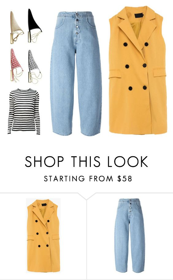 """""""2323"""" by tamarkb ❤ liked on Polyvore featuring MM6 Maison Margiela, Chanel and Proenza Schouler"""