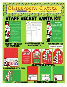 how to organise work secret santa