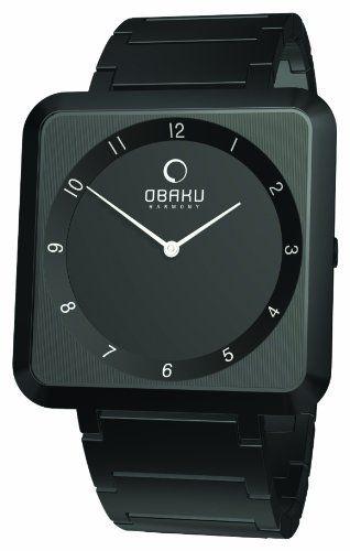 Obaku Harmony Damen-Armbanduhr Analog Edelstahl beschichtet V139LBBSB - http://uhr.haus/obaku/obaku-harmony-damen-armbanduhr-analog-edelstahl-2